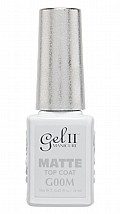 Gel II® No Cleanse Matte Top Coat 14 ml
