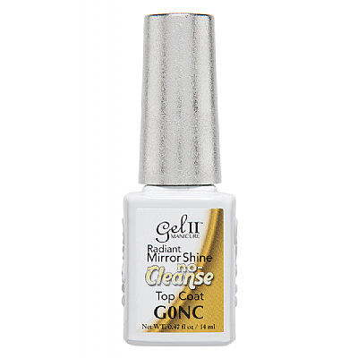 Gel II® No Cleanse Top Coat - 14 ml