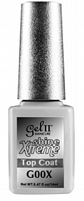 Gel II® Extreme Shine Top Coat - 14 ml