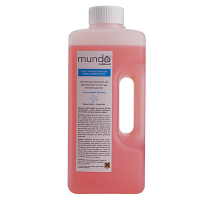 Mundo Foot Spa & Water Line Disinfectant 2L