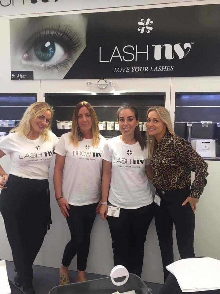 Lashnv Lashes Lashes at Olympia Beauty London 2017