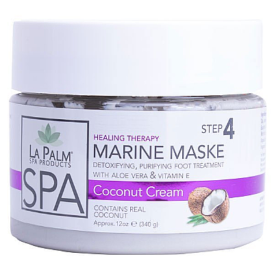 La Palm Marine Mask - Coconut Cream