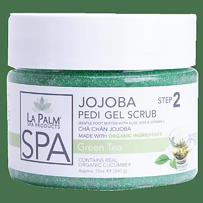 La Palm Pedi-Gel Scrub - Green Tea
